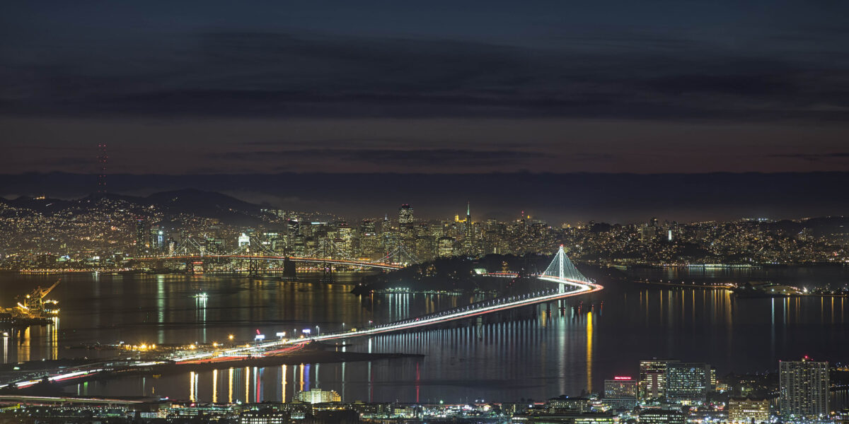San-Francisco-Bay-at-night-in-the-US-state-of-California-HD-Wallpapers-For-Desktop-Tablets-Free-Download-3840x2400